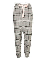 Pant Twill Check - WARM GREY MELEE