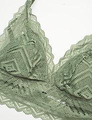 Hunkemöller - Filomena bralette - plunge bh's - hedge green - 2