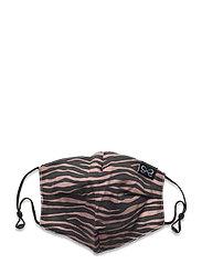 Facemask Zebra Cotton - BROWN
