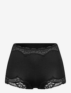 Secrets lace mx black - boxers - black