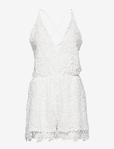 Crochet Playsuit - piżamy - off white