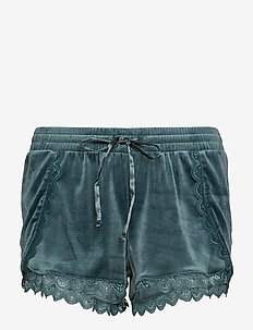 Short Velours Lace - FOREST GREEN