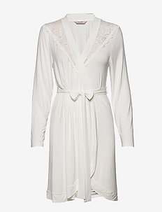 Robe Modal Lace - OFF WHITE