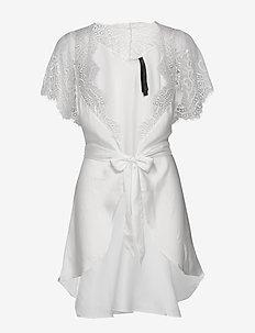 Kimono Cap Sleeve - kylpytakit - off white