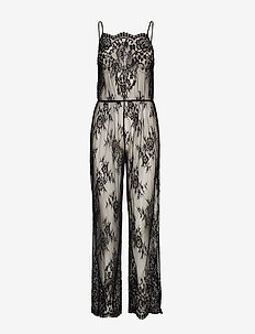 Jumpsuit Lace Maria - BLACK