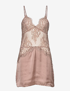 SD Satin Lace - SILVER PINK