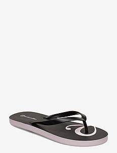 Bow Flip Flop - BLACK