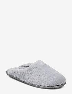 Fake Fur Mule - GREY