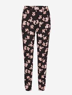 Pant Jersey Blossom - BLACK