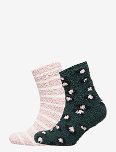 2P Cosy Socks Animal - GREEN