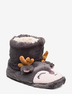 Cute Deer Boot - GREY
