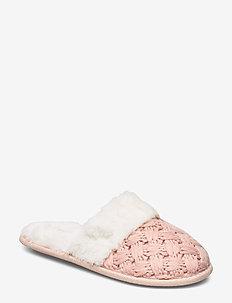 Fancy Knit Mule - PINK
