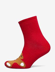 Ginger Man Sock Gift Box - RED