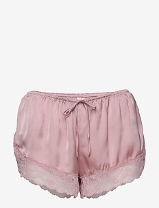 Short Satin Meili - szorty - pale mauve