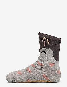 Cute Deer Sock Boot - GREY