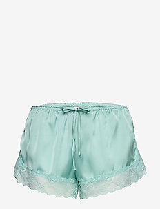 Short Satin Meili - SKY BREEZE
