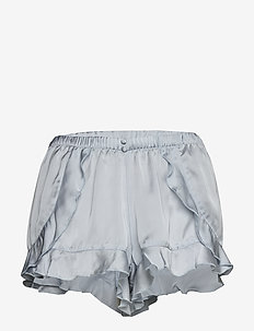 Short Satin Flounce - GRAY DAWN