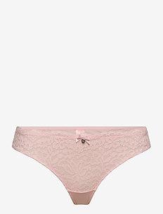 Marina string r - string - chalk pink