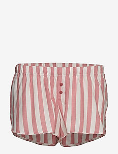 Short Chambray Stripe - shortsit - dusty cedar