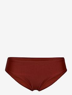 Cali rio h - doły strojów kąpielowych - dark red