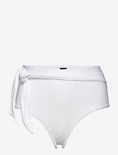 Santorini cheeky hw - doły strojów kąpielowych - blanco