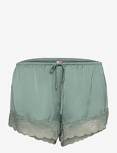 Short Satin Meili - szorty - chinois green