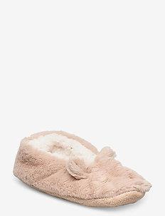 Zebra Animal  Ballerina - slippers - oatmeal marl
