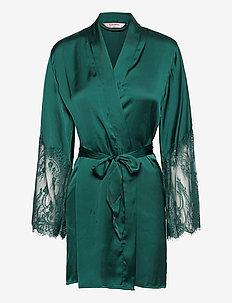 Kimono Satin Lace - kylpytakit - atlantic deep