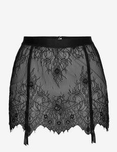 Skirt Lace Garter - sale - black