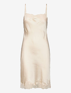 SD Satin Laser Cut Lace - nightdresses - sea salt