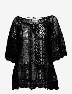 Lace Tunic - overige badmode - black