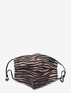 Facemask Zebra Cotton - gezicht maskers - brown