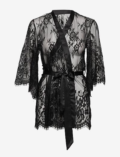 Kimono Lace Isabella - badjassen - black