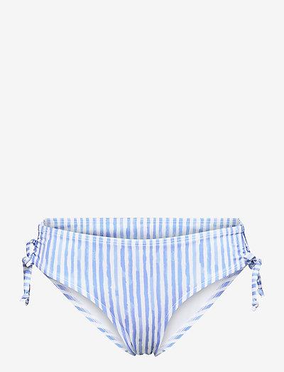 Julia rio h - bikini's met bandjes opzij - blue