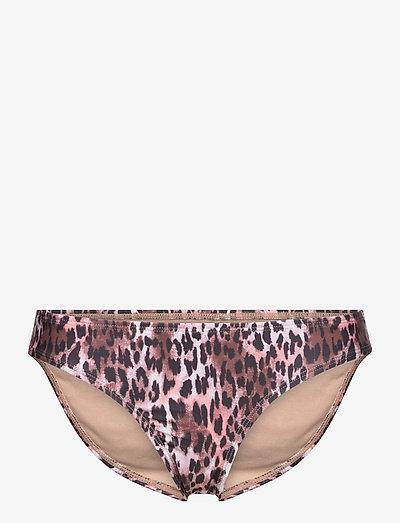 Leopard rio r - bikinibroekjes - black