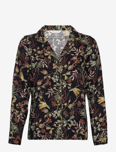 Jacket Ls Vis Twill Dragonfly - tops - black