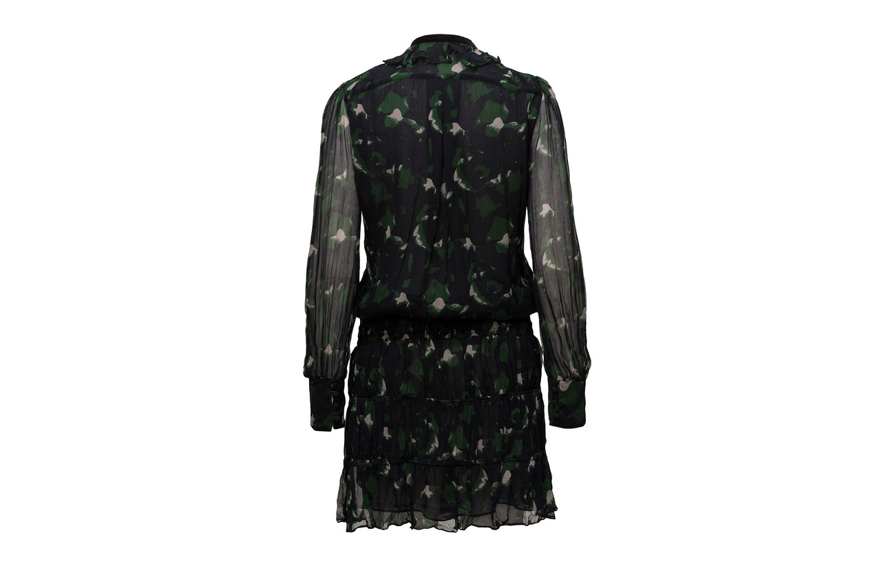 Print Spot Ryon Dress Navy 100 Bemberg Hunkydory Ada tq4IAwxn8