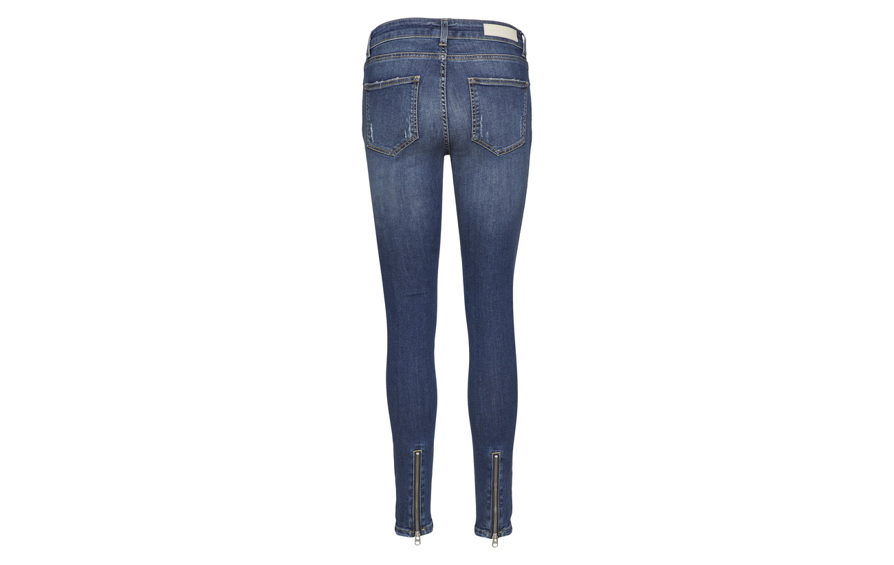 98 Elastane Indigo Coton Wash 2 Jeans Mid Hunkydory Dree Xwv7RR
