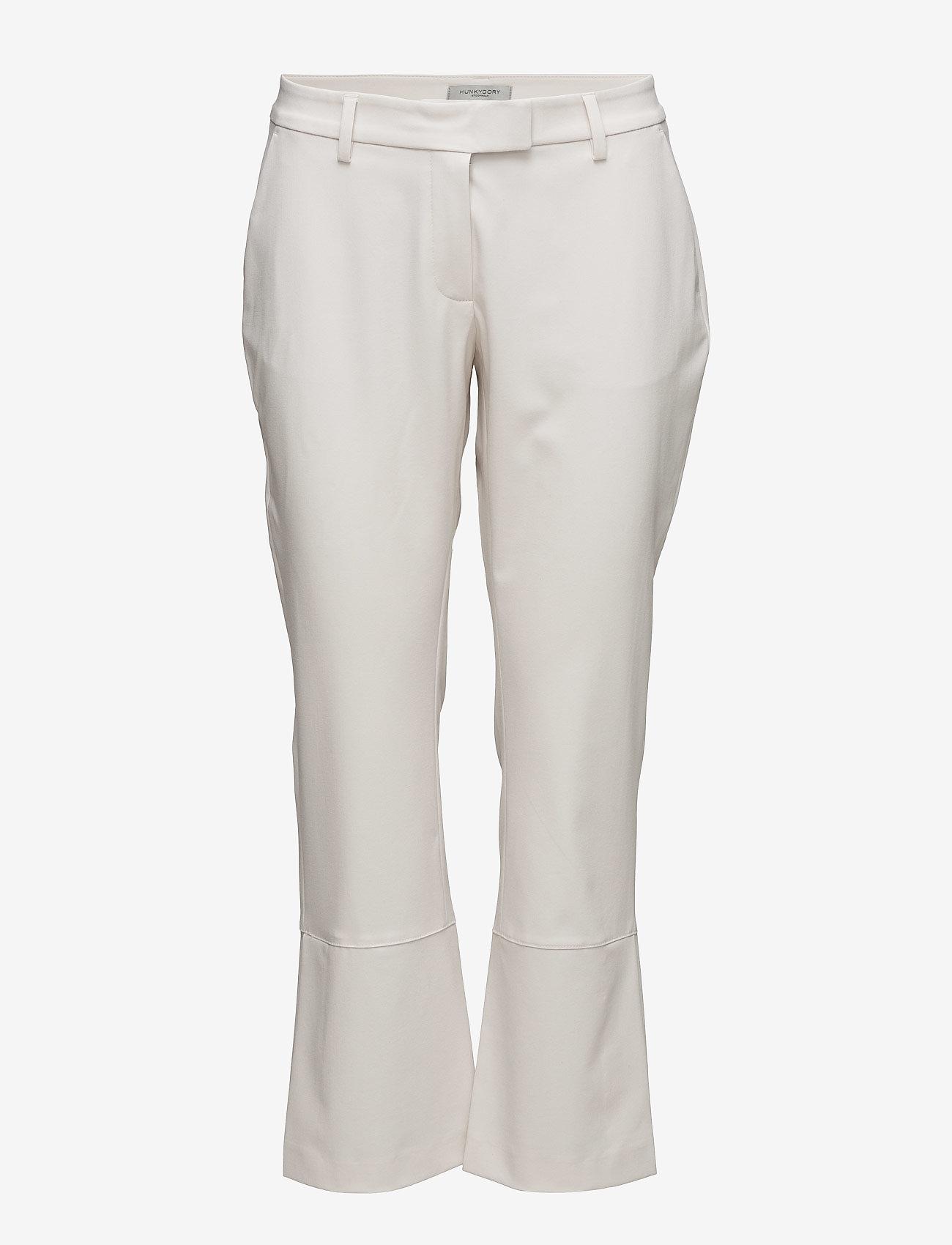 Hunkydory - Thelma Slacks - bukser med brede ben - bone beige - 0