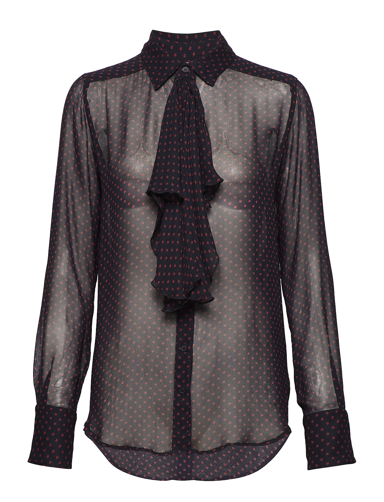 Hunkydory Clinton Star Shirt - ALMOST BLACK STAR