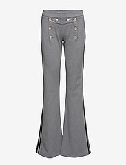 Hunkydory - Billie Pant - byxor - light grey melange - 0