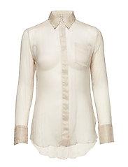 Leola Shirt - CHALK IVORY