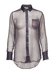 Leola Shirt - GUN METAL GREY