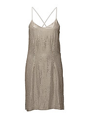 Stevey Cami Dress - DESERT BEIGE