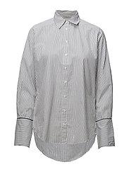 Striped B.D. Shirt - DARK NAVY STRIPE
