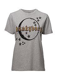 Moonlight T-shirt - MID GREY MELANGE