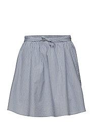Mason Skirt - BLUE STRIPE