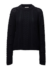 Cable Knit - NAVY