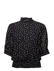 Rita blouse - ALMOST BLACK SPADES