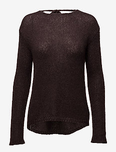 Lois Knit - swetry - rich brown